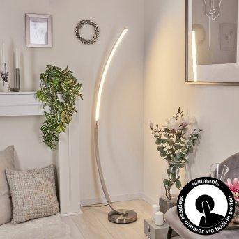 Kimbolton Bogenlampe LED Nickel-Matt, 1-flammig