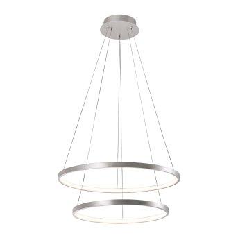 Leuchten Direkt CIRCLE Pendelleuchte LED Silber, 1-flammig