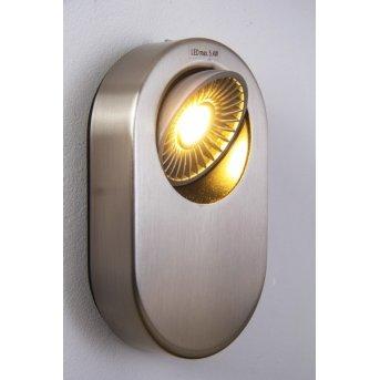 Granada Wandleuchte LED Nickel-Matt, 1-flammig