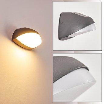 Tanguro Außenwandleuchte LED Schwarz, 1-flammig