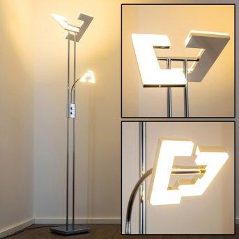 Reality Avignon Deckenfluter LED Chrom, 2-flammig