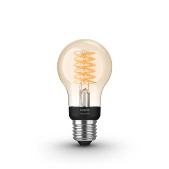 Philips Hue LED White Filament E27 7 Watt 2100 Kelvin 600 Lumen