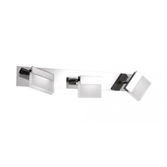Wofi SPA line SONETT Bad-Wandleuchte LED Chrom, 3-flammig