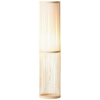 Brilliant Leuchten Nori Standleuchte Weiß, 1-flammig