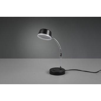 Reality Kiko Tischleuchte LED Schwarz, 1-flammig