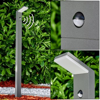 Korup Wegeleuchte LED Anthrazit, 1-flammig, Bewegungsmelder