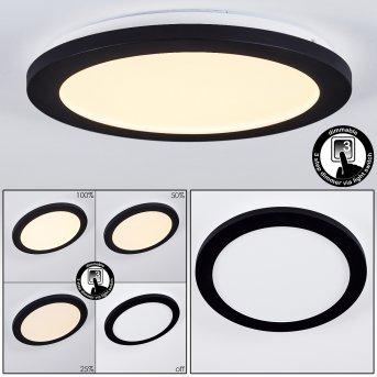 Siguna Deckenleuchte LED Schwarz, 1-flammig