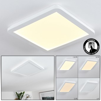 Siguna LED Panel Weiß, 1-flammig