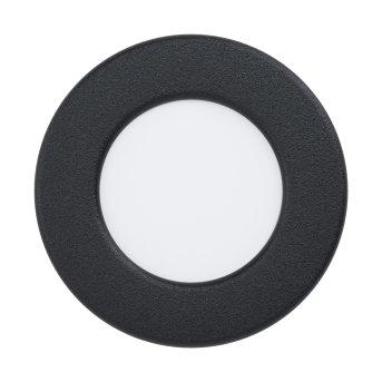 Eglo FUEVA Einbauleuchte LED Schwarz, 1-flammig