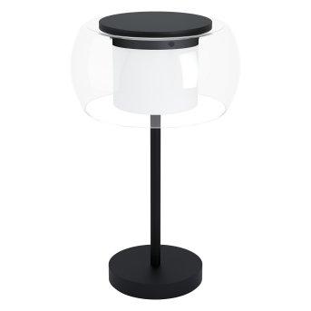 Eglo BRIAGLIA Tischleuchte LED Schwarz, 1-flammig, Farbwechsler