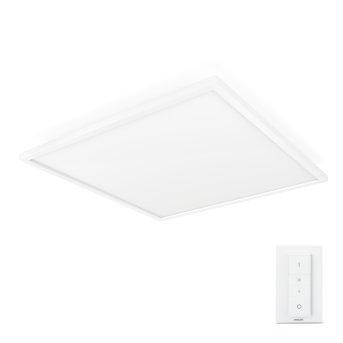 Philips Hue Ambiance White Aurelle Panelleuchte LED Weiß, 1-flammig, Fernbedienung