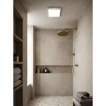 Nordlux OJA Deckenleuchte LED Chrom, 1-flammig