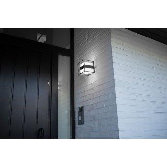 Lutec Cruz Außen Wandleuchte LED Anthrazit, 1-flammig