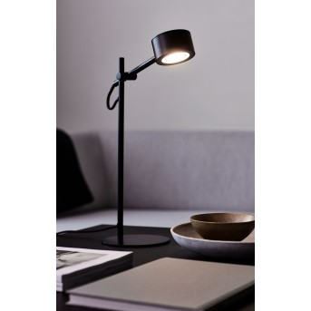 Nordlux CLYDE Tischleuchte LED Schwarz, 1-flammig