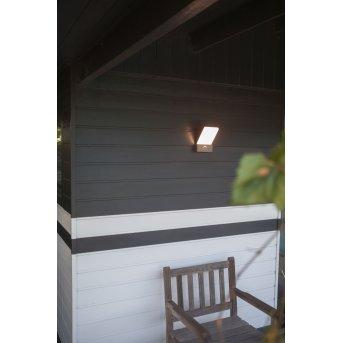Lutec Pano Außen Wandleuchte LED Anthrazit, 1-flammig