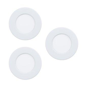 Eglo FUEVA Einbauleuchte LED Weiß, 3-flammig