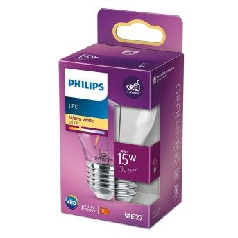 Philips LED E27 15 Watt 2700 Kelvin 136 Lumen