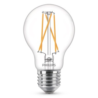 Philips LED E27 40 Watt 2700-2200 Kelvin 470 Lumen