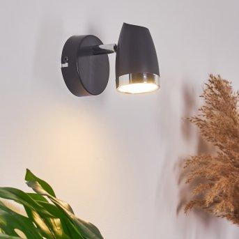 Idlewild Wandleuchte LED Schwarz, 1-flammig