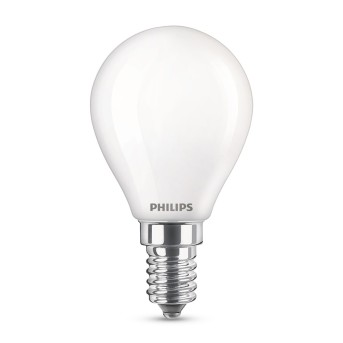 Philips LED E14 40 Watt 2700-2200 Kelvin 470 Lumen