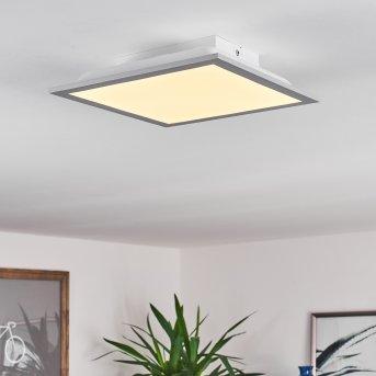 Farc LED Panel Silber, 1-flammig