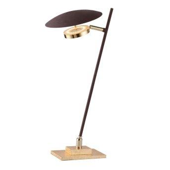 Wofi SALEM Tischlampe LED Gold, 1-flammig