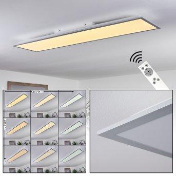 Nexo  LED Panel Weiß, 1-flammig, Fernbedienung