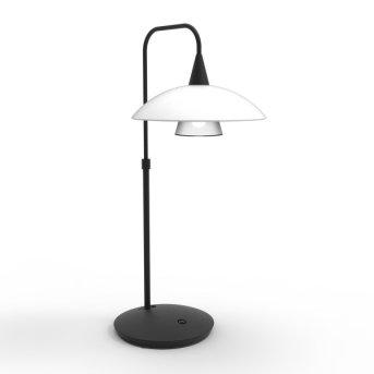 Steinhauer Tallerken Tischleuchte LED Schwarz, 6-flammig