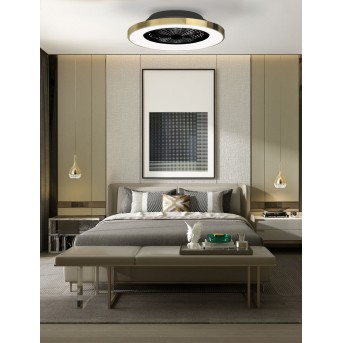 Mantra TIBET Deckenventilator LED Weiß, 1-flammig, Fernbedienung