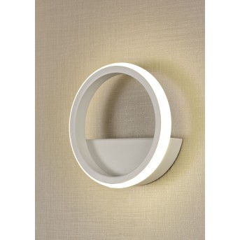 Mantra KITESURF Wandleuchte LED Weiß, 1-flammig
