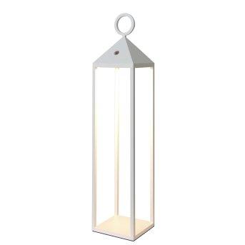 Mantra ASTUN Außenstehleuchte LED Weiß, 1-flammig