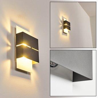 Tokata Außenwandleuchte LED Weiß, 2-flammig