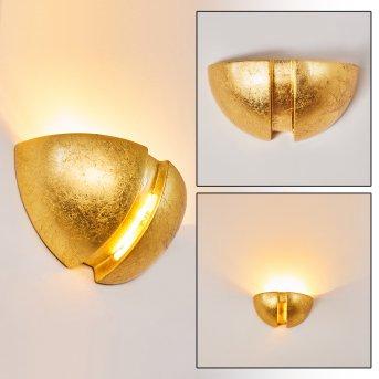 Kawasaki Wandleuchte Gold, 1-flammig