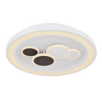 Globo NOLO Deckenleuchte LED Weiß, 1-flammig, Fernbedienung, Farbwechsler