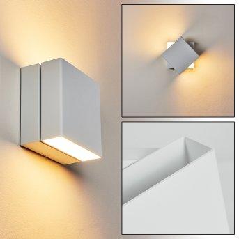 Fontanile Außenwandleuchte LED Weiß, 1-flammig