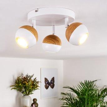 Kotaoa Deckenleuchte LED Weiß, 3-flammig