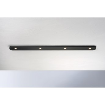 Bopp Leuchten CLOSE Deckenleuchte LED Schwarz, 4-flammig