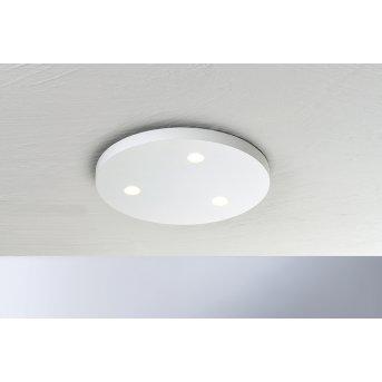 Bopp Leuchten CLOSE Deckenleuchte LED Weiß, 3-flammig