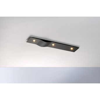 Bopp Leuchten WAVE Deckenleuchte LED Schwarz, 3-flammig