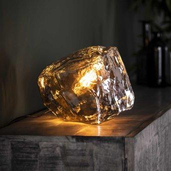 Marore Tischleuchte Silber, 1-flammig