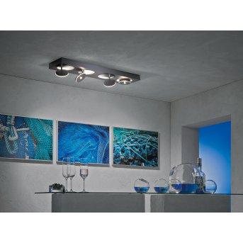 Escale SPOT IT Deckenleuchte LED Anthrazit, 4-flammig