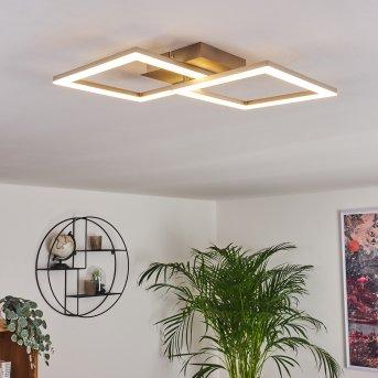 Batuna Deckenleuchte LED Nickel-Matt, 1-flammig