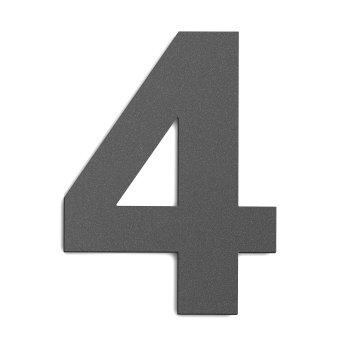 CMD Hausnummer Groß Anthrazit