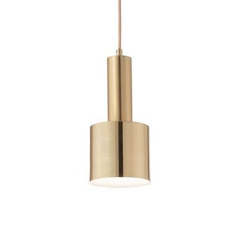 Ideallux HOLLY Pendelleuchte Messing, 1-flammig
