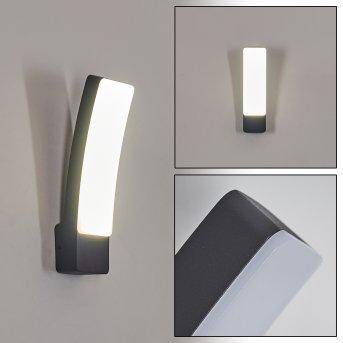 Maseru Außenwandleuchte LED Anthrazit, 1-flammig