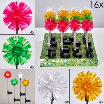 Bouquet Solarleuchte 16er Set LED Bunt, 1-flammig