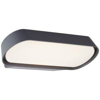 Brillliant Samira Außenwandleuchte LED Schwarz, 1-flammig