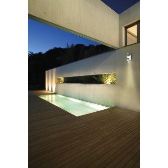 Eglo Z_SOLAR Hausnummernleuchte LED Edelstahl, 2-flammig
