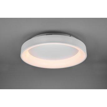 Trio Girona Deckenleuchte LED Weiß, 1-flammig, Fernbedienung