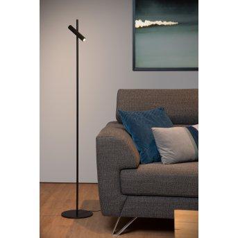Lucide PHILON Stehlampe LED Schwarz, 1-flammig